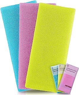 Exfoliating Washcloth Towel Microabrasion Washcloth Nylon Japanese Bath Towel Wash Cloth Korean Exfoliating Towel For Body...