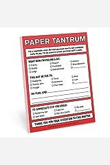 Knock Knock Paper Tantrum Nifty Note Mass Market Paperback