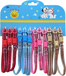 YML Sparkle Pattern Pet Collar, Assorted Colors