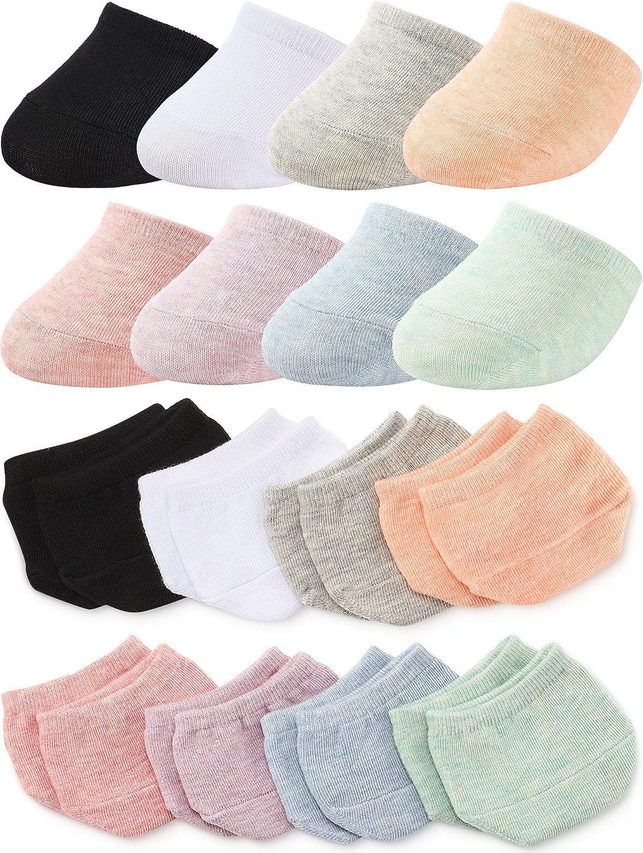 8 Pairs Toe Topper Liner Half Socks Seamless Women's Socks Toe Half Socks