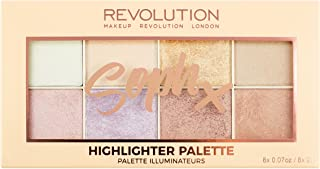 Makeup Revolution Soph Highlighter Palette, 16g