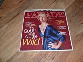 Parade magazine, September 9, 2007-Charlize Theron-Taking on unexpected roles in her movies and life.