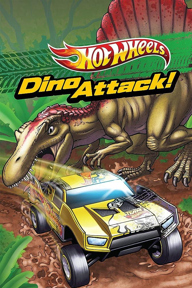 従事する追うレッスンDino Attack (Hot Wheels) (Scholastic Reader Level 1) (English Edition)