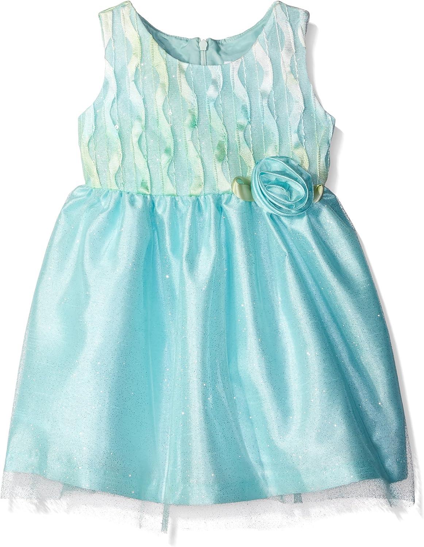 Jayne Copeland Girls' Ombre Sequin Soutache Dress