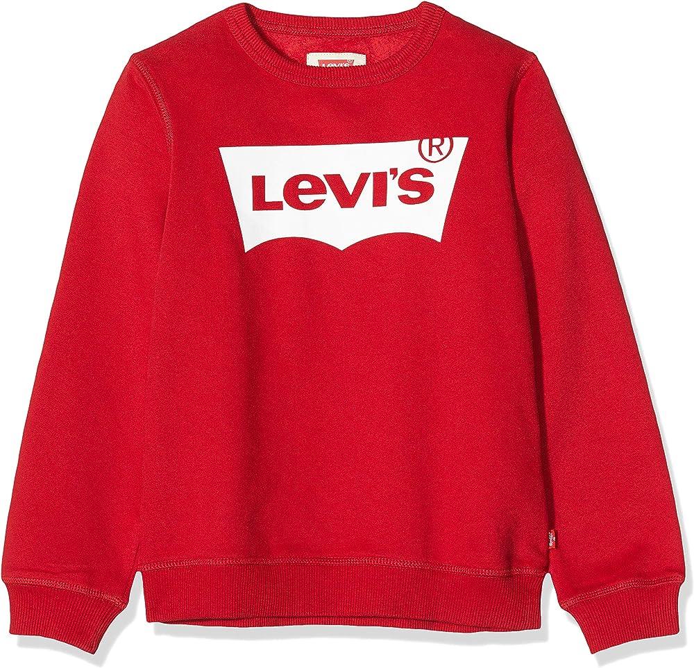 Levi`s kids, maglione,felpa per bambino - ragazzo  dai 4 ai 16 anni,60% cotone, 40% poliestere E9079