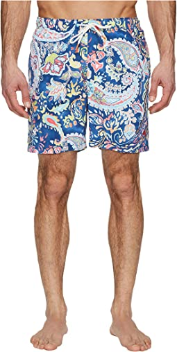 Naples Paisley Promenade Swim Trunk