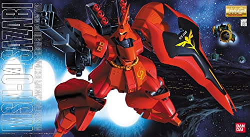 Gundam MSN-04 Sazabi MG 1 100 Scale (japan import)