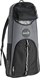 Phantom Aquatics Snorkeling Backpack Diving Gear Bag with Shoulder Strap - Fits Fins, Snorkel, Mask and More - Ideal Trave...