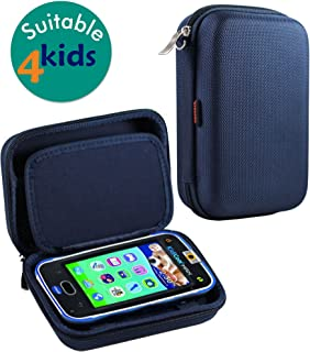 Navitech Blue Premium Travel Hard Carry Case Cover Sleeve Compatible with The Vtech Kidibuzz