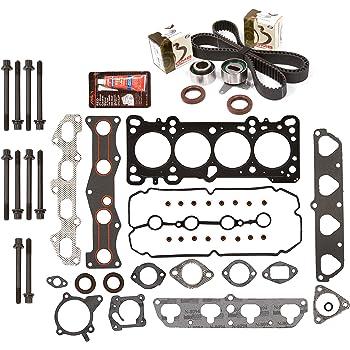 Evergreen HSTBK2036 Head Gasket Set Timing Belt Kit Fits Bolts Fits 90-97 Lexus 4.0L V8 DOHC 32v 1UZFE