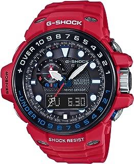 [カシオ] 腕時計 ジーショック GULFMASTER 世界6局電波対応ソーラーウオッチ GWN-1000RD-4AJF レッド