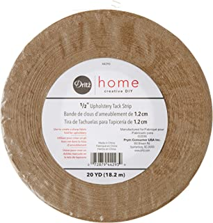 Dritz Home 44293 Upholstery Tack Strip Roll, 1/2-Inch x 20-Yards