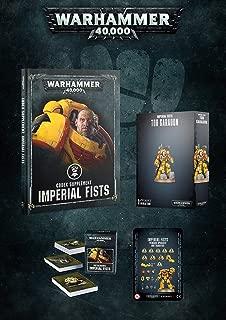 Warhammer 40k Imperial Fists Exclusive Bundle: Tor Garadon, Codex, Cards, & Upgrades