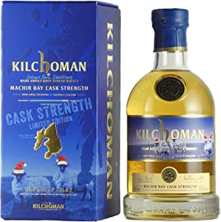 Kilchoman MACHIR BAY Islay Single Malt CASK STRENGTH Christmas Edition 58,6% Volume 0,7l in Geschenkbox Whisky