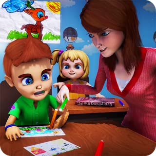 Virtual Teacher Of High School Simulator: City School Hello Teacher Adventure Games Free For Kids 2018