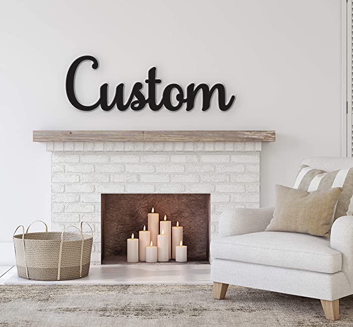 The Best Custom Wood Signs For Home Decor