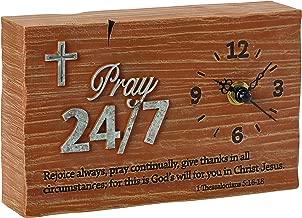 Precious Moments Pray It Forward Collection-Pray 24/7 Clock, 8153008
