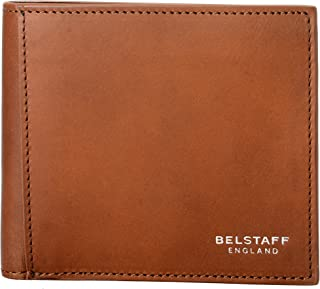 London 100% Leather Men's Brown Bifold Wallet