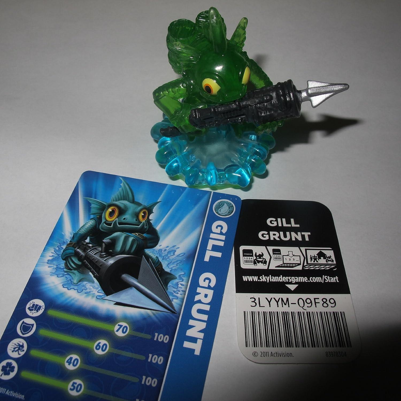 Exclusive Skylanders Spyro's Adventure Grunt transl Variant Gill Time sale Max 45% OFF