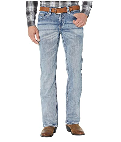 Rock and Roll Cowboy Reflex Pistol Jeans in Light Wash M0P1073 (Light Wash) Men