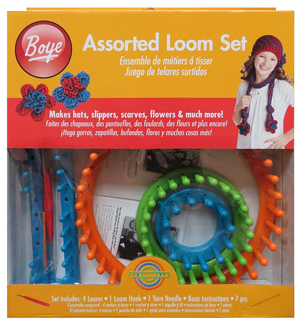 Simplicity Assorted Loom Knitting Set, 7pc