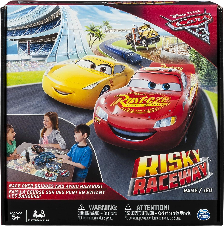 Spin Master 新作からSALEアイテム等お得な商品 満載 本日の目玉 Games - Cars Game Board Raceway 3 Risky