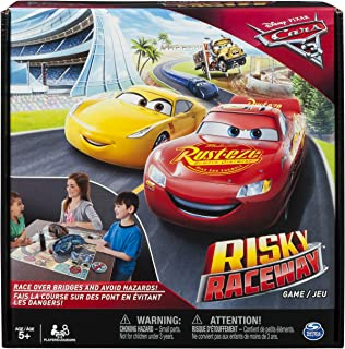 Spin Master Games - Cars 3 - Risky Raceway - Board Game