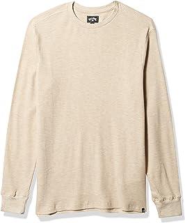 BILLABONG Mens M917VBES Essential Thermal Long Sleeve Shirt
