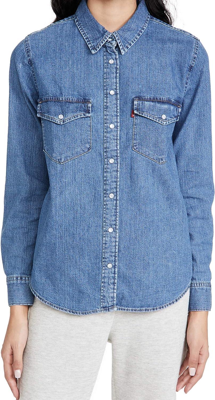 Brand Cheap Sale Venue Levi's Women's Essential Western Shirt Manufacturer regenerated product