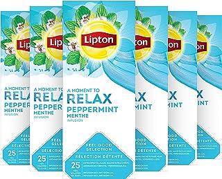 Lipton Pepermunt Thee - 6 x 25 zakjes