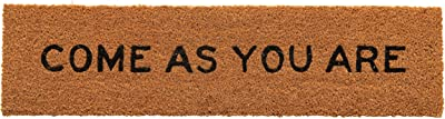 Creative Co-Op Natural Coir Step Come As You are Doormat