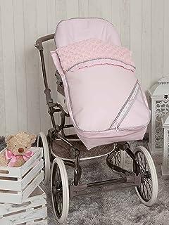 comprar comparacion Babyline Bombón - Saco para silla de paseo, color rosa