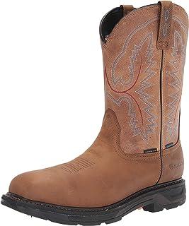 حذاء ARIAT رجالي Workhog Xt مصنوع من الكربون مربع اصبع القدم H2o