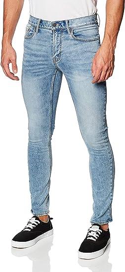 Old Navy Jeans Para Hombre Pantalon Mezclilla Flex Skinny 24 7 Modelo 409579 Talla 36x32 Azul Claro Amazon Com Mx Ropa Zapatos Y Accesorios
