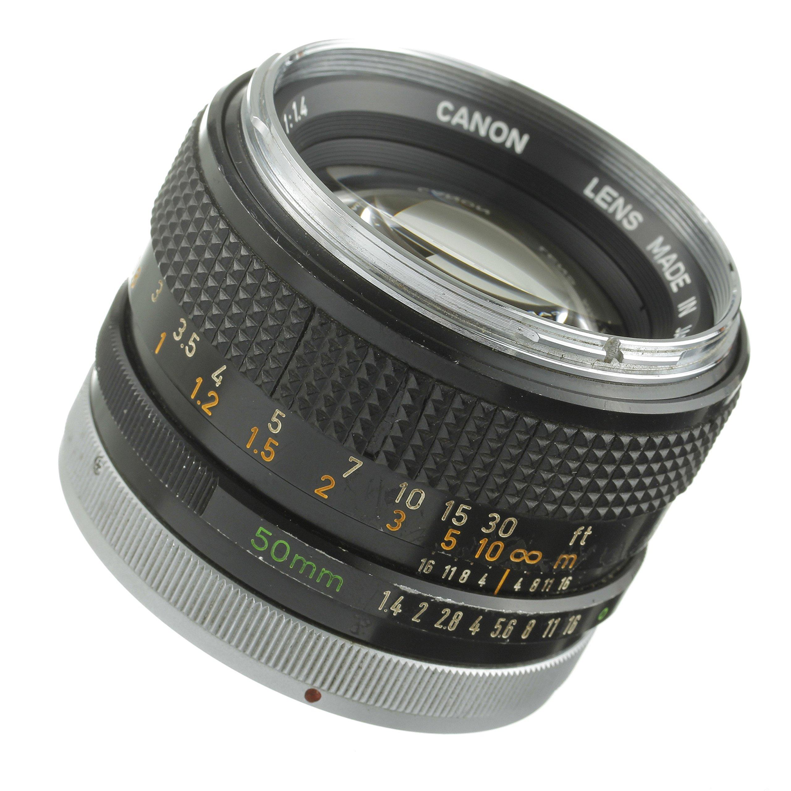 Canon 50mm 1 4 Manual Focus