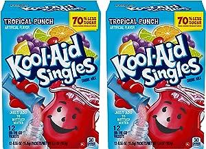 Kool-aid Singles Tropical Punch 12-.055 Oz Box 2-boxes