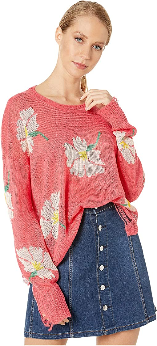 Lovely Floral Knit
