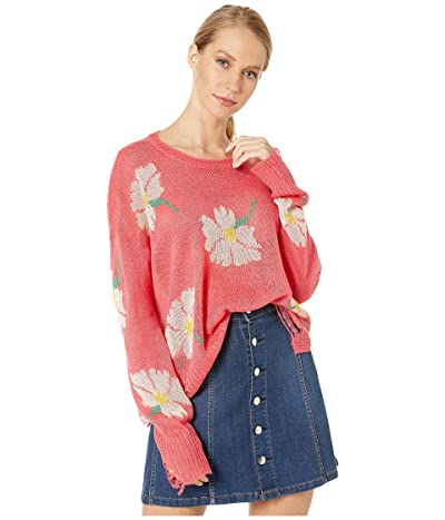Show Me Your Mumu Seco Sweater (Lovely Floral Knit) Women
