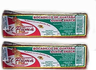 EL PUMA Bocadillo de Guayaba Pulpa (Lonja Roja) - 400 gr. - 2 Pack