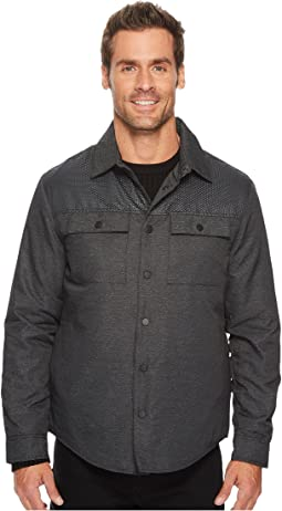 Two-Pocket Pieced Shirt Jacket