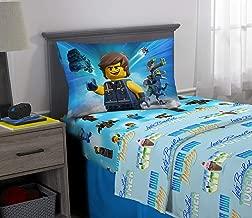 Franco Kids Bedding Super Soft Sheet Set, 3 Piece Twin Size, Lego Movie 2