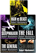 Cherub Series 2 Collection Robert Muchamore 5 Books Set (Books 6 To 10) (Man Vs Best, The Fall, Mad Dogs, The Sleepwalker, The General)