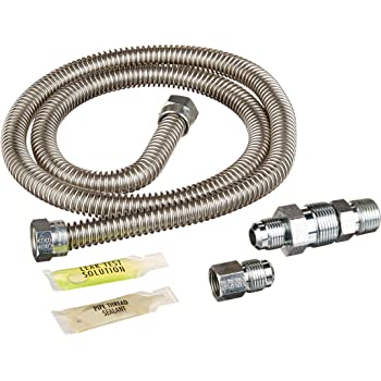 Amazon Com General Electric Pm15x104 Universal Gas Dryer Install Kit 48 Inches Home Improvement