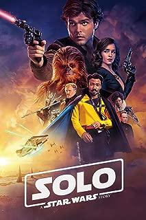 Solo A Star Wars Story Movie Poster Limited Print Photo Alden Ehrenreich, Woody Harrelson, Emilia Clarke Donald Glover Size 24x36#3