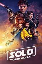 Solo A Star Wars Story Movie Poster Limited Print Photo Alden Ehrenreich, Woody Harrelson, Emilia Clarke Donald Glover Size 8x10#3