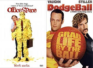 Seriously Funny Comedy Collection - Office Space (Special Edition with Flair!) & Dodgeball 2-DVD Bundle