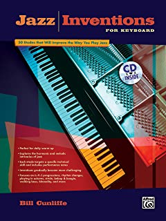 Jazz Inventions for Keyboard: 50 Etudes That Will Improve the Way You Play Jazz, Book & CD