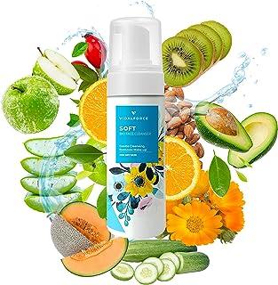 ZACHT. Gezichtsreinigende mousse voor de droge of normale huid. Reinigt poriën en mee-eters, vuil en make-up. Natuurlijke ...