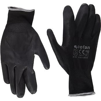 Negro T-7 Cofan 11000125-7 Guantes