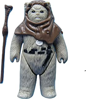 Vintage 1983 Star Wars ROTJ Chief Chirpa Ewok Figure (1983) - Star Wars Universe Action Figure - Collectible Replacement Figure Loose (OOP Out of Package)
